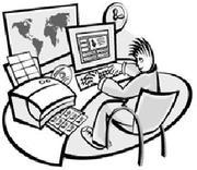 Обслуживание компьютеров,  локальных сетей и пр.