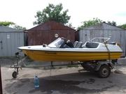 Продам лодку – стеклопластик с мотором