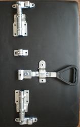 Устройство запорное в комплекте с оцинкованной стали Ø22 мм.