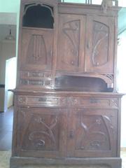 Кухонный буфет  старинный