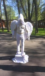 Живые статуи Черкассы !