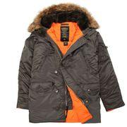 Настоящие куртки Аляска из Америки от Alpha Industries,  USA