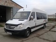 Аренда микроавтобуса для поездки в европу  Мерседес Спринтер 18-21 пас