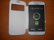Samsung S4 4, 7 black white (2 sim,  tv,  java  wi-fi)