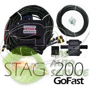 STAG 200 GoFast поставить с форсунками hana хана на авто установить гб