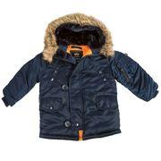 Детские куртки Аляска от Американской фирмы Alpha Industries,  USA