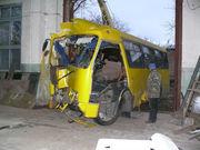 Оценка ущерба и ремонта автобусов после ДТП !