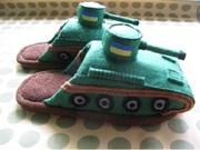 тапки танки для детей