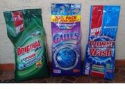 Стиральные порошки концентраты POWER WASH ORIGINAL GALLUS и др.10 кг.