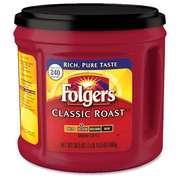 Кофе молотый Folgers Classic Medium про-ва США в банках по 865г