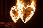Огненные сердца для свадьбы !