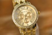 Часы женские GENEVA горный хрусталь