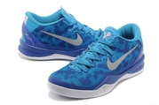 Кроссовки Nike Kobe 8 синие
