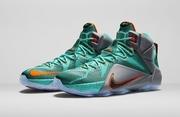 Кроссовки Nike Lebron 12 бирюзовые
