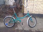 Продам велосипед Аист на 20 колёсах.