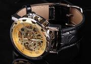 Элитные мужские часы Skeleton WINNER