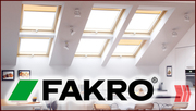 Мансардные окна Fakro (+кожух) - г. Черкассы.