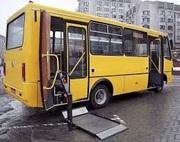 Переоборудование автобусов Богдан , Эталон ,  ПАЗ ,  i-Van (