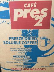 Кофе растворимый сублимированный Pres-2 Пресс-2,  страна Эквадор 25 кг
