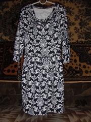 женское платье трикотаж отто