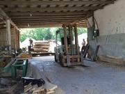 Деревообрабатывающее предприятие,  Цех изготовления древесных пелет и б