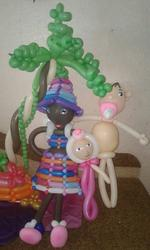 Шары с гелием и фигуры из воздушных шаров в Черкассах.
