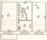 Продам 2 ком. квартиру по ул. Смелянская в р-не ж/д вокзала на 2 этаж