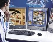 Монтаж видеонаблюдения,  домофонов,  сигнализаций,  контроль доступа